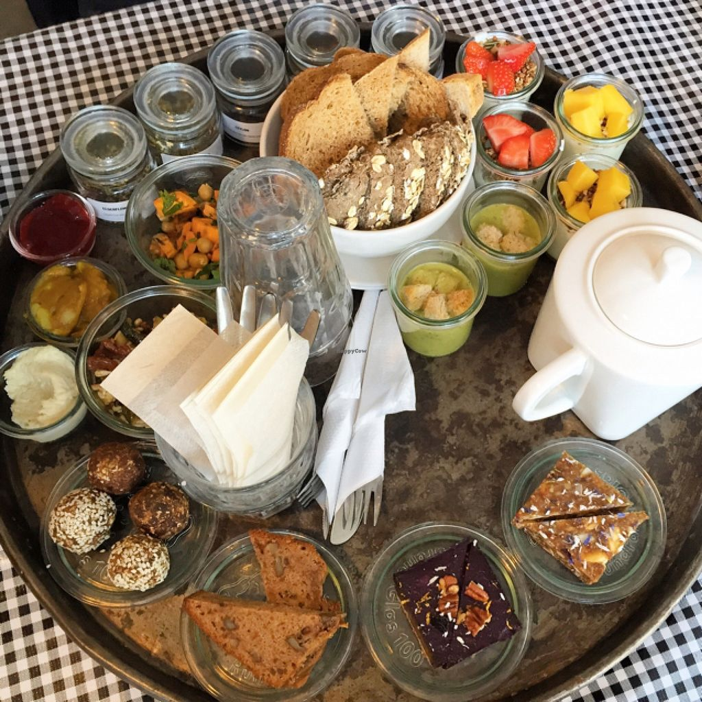 """Photo of The Tea Lab  by <a href=""""/members/profile/cybergabi"""">cybergabi</a> <br/>vegan high tea <br/> October 16, 2015  - <a href='/contact/abuse/image/58620/121495'>Report</a>"""