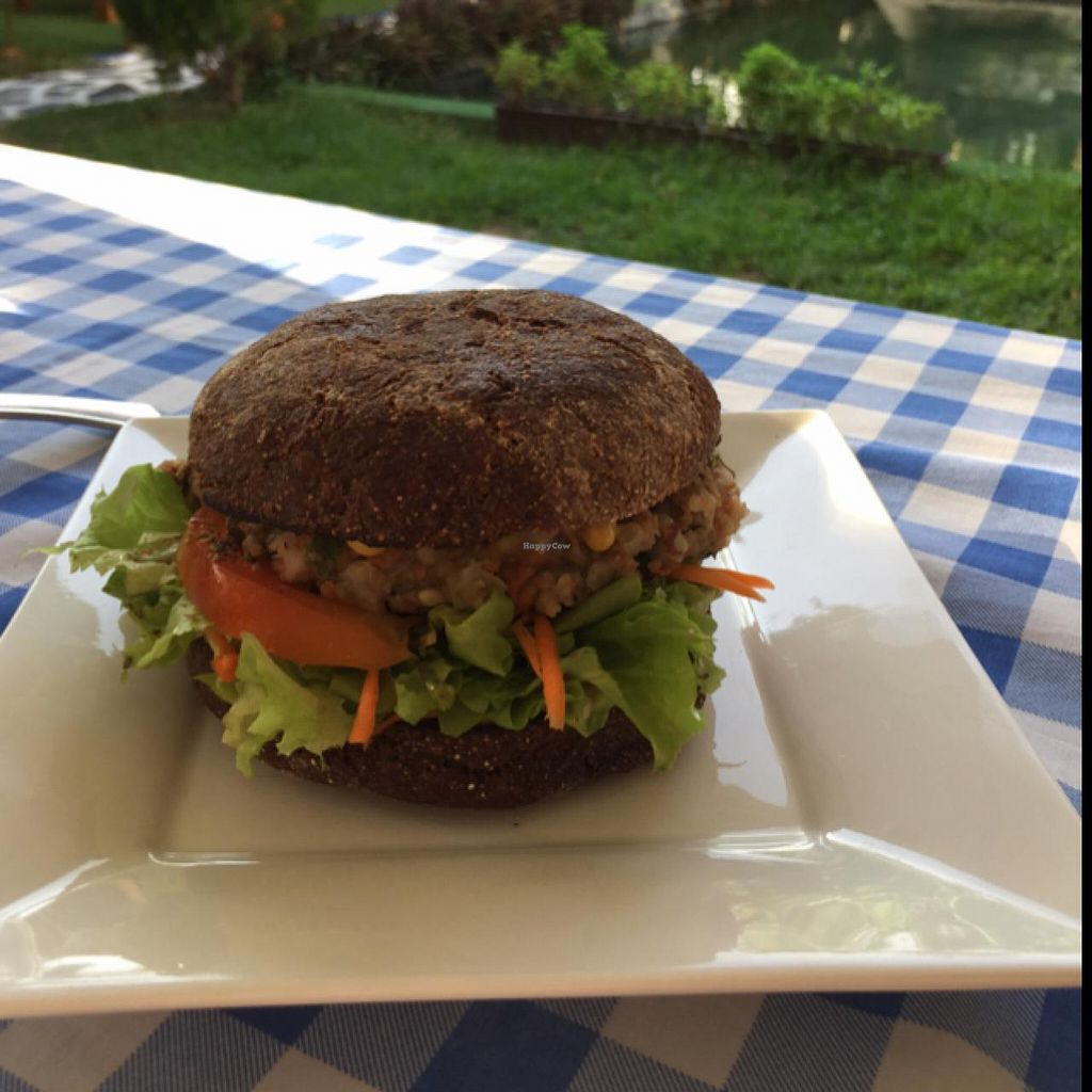 """Photo of Natural Efe Macrobiotic World  by <a href=""""/members/profile/fcfon"""">fcfon</a> <br/>vegan burger) <br/> July 2, 2015  - <a href='/contact/abuse/image/58626/107960'>Report</a>"""
