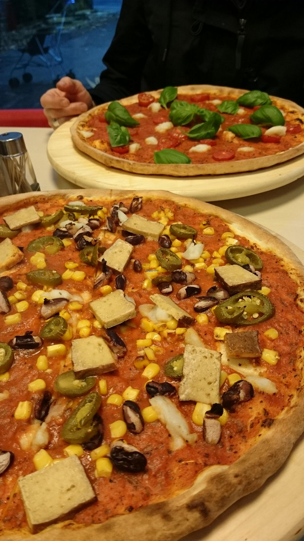 """Photo of Pizza Hell  by <a href=""""/members/profile/lenaknp"""">lenaknp</a> <br/>the vegan options <br/> November 15, 2015  - <a href='/contact/abuse/image/58645/125080'>Report</a>"""