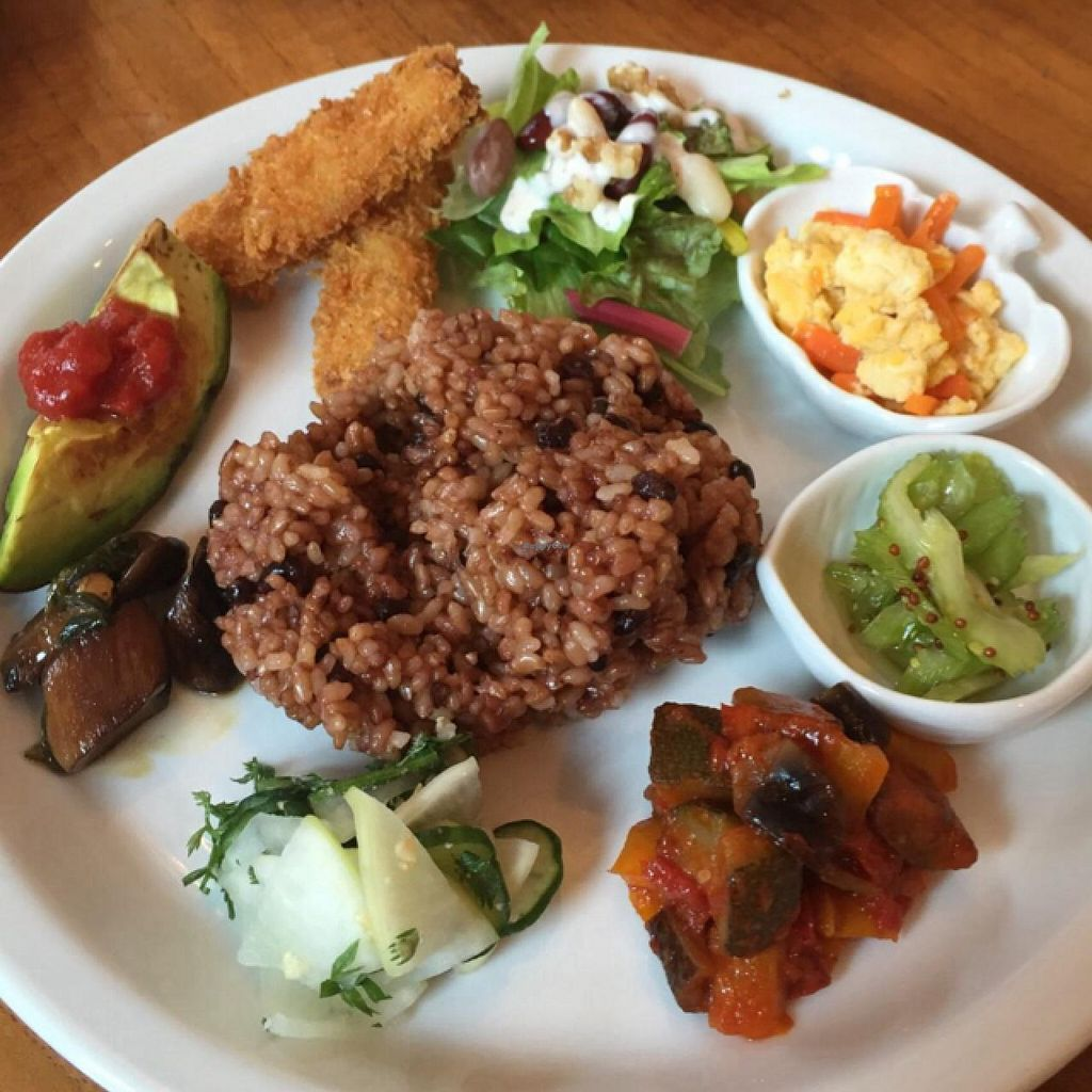 """Photo of CLOSED: Oriental Vegi Cafe Chacourin  by <a href=""""/members/profile/MonicaPancake"""">MonicaPancake</a> <br/>lunch special on 21 may 2015 <br/> May 23, 2015  - <a href='/contact/abuse/image/58667/103115'>Report</a>"""