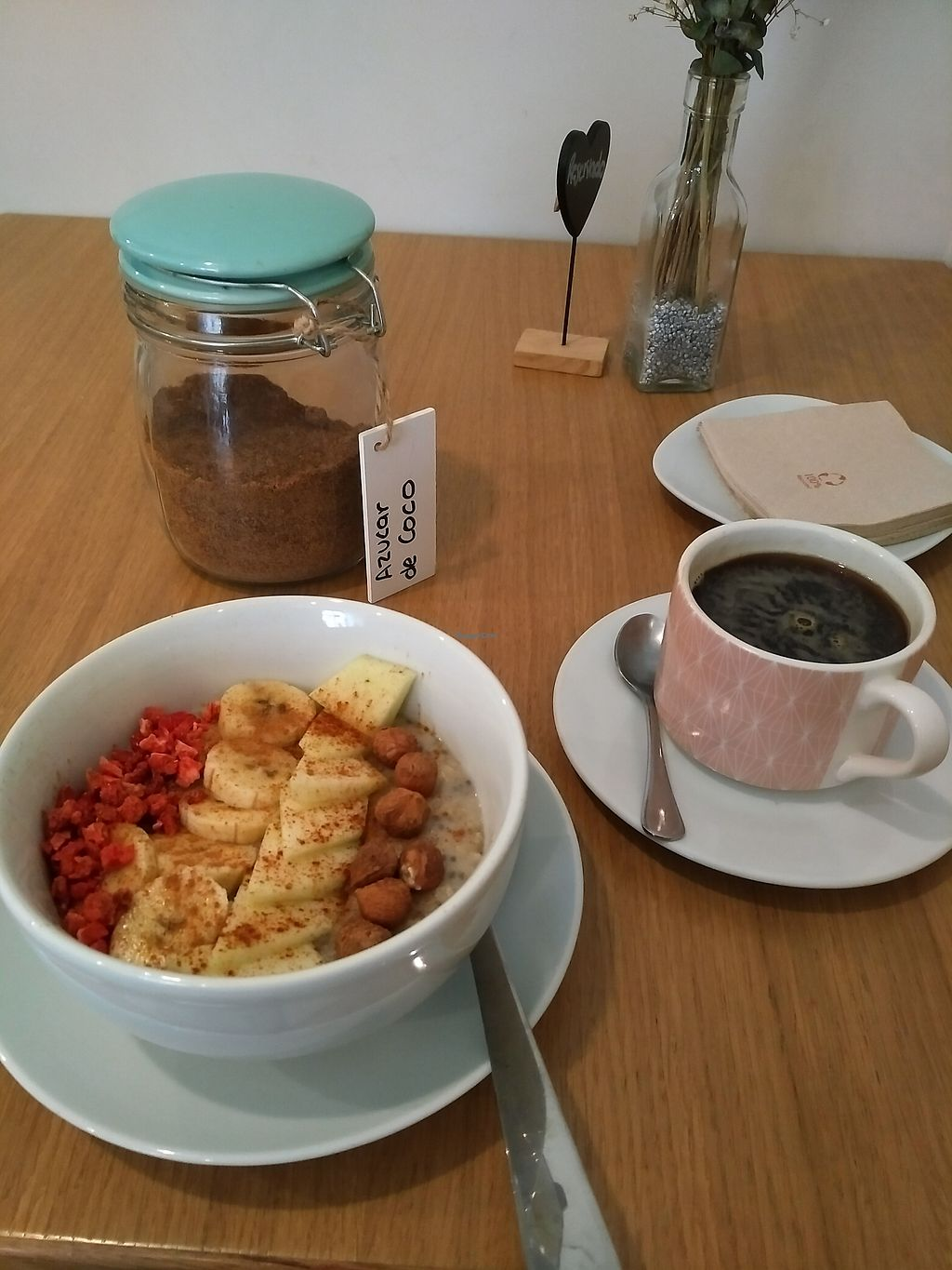"Photo of Dellicare Cafe  by <a href=""/members/profile/Ryecatcher"">Ryecatcher</a> <br/>chia bowl with fruits and coffee <br/> July 11, 2017  - <a href='/contact/abuse/image/58696/278938'>Report</a>"