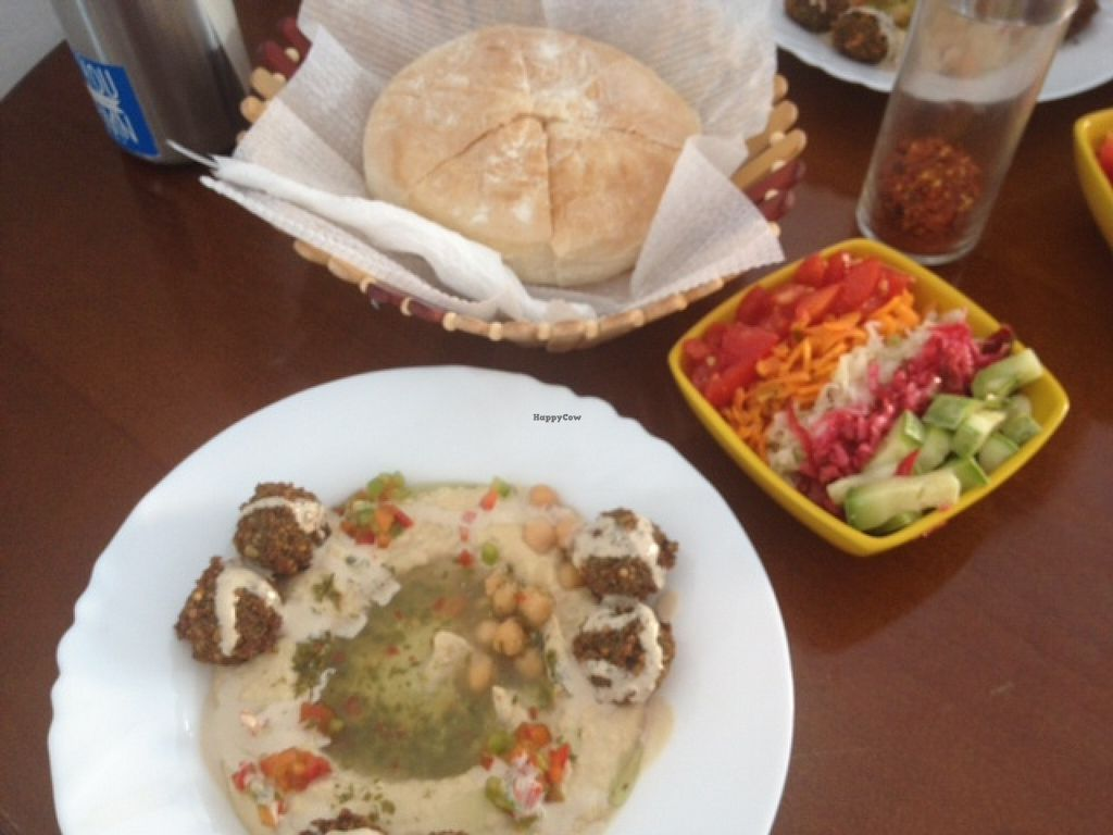 "Photo of Dr. Falafel  by <a href=""/members/profile/jojoinbrighton"">jojoinbrighton</a> <br/>Falafel & Hummus with an excellent salad <br/> September 1, 2015  - <a href='/contact/abuse/image/58699/116067'>Report</a>"