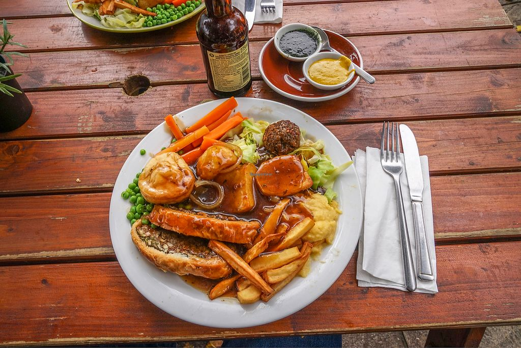 """Photo of Loving Hut Cafe - St Peter's Place  by <a href=""""/members/profile/DanielBrunt"""">DanielBrunt</a> <br/>Sunday nut roast  <br/> October 15, 2017  - <a href='/contact/abuse/image/58717/315509'>Report</a>"""