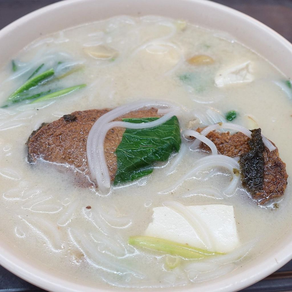 """Photo of Vegetarian Delight  by <a href=""""/members/profile/JimmySeah"""">JimmySeah</a> <br/>Vegetarian sliced fish noodle <br/> May 24, 2015  - <a href='/contact/abuse/image/58744/103300'>Report</a>"""
