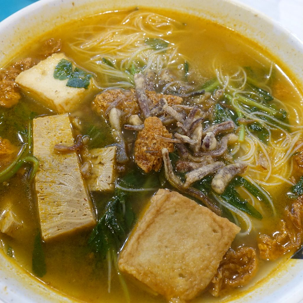 """Photo of Xuan Miao Vegan - Paya Lebar Square   by <a href=""""/members/profile/JimmySeah"""">JimmySeah</a> <br/>tom yam mee hoon soup <br/> August 15, 2015  - <a href='/contact/abuse/image/58745/113640'>Report</a>"""