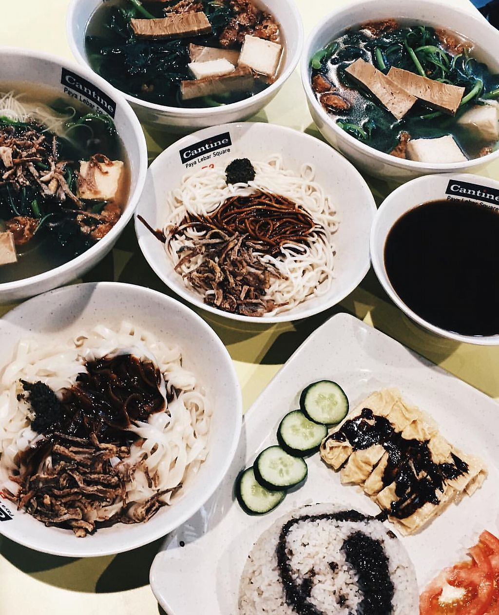 """Photo of Xuan Miao Vegan - Paya Lebar Square   by <a href=""""/members/profile/CherylQuincy"""">CherylQuincy</a> <br/>Noodles and rice <br/> January 31, 2018  - <a href='/contact/abuse/image/58745/353045'>Report</a>"""