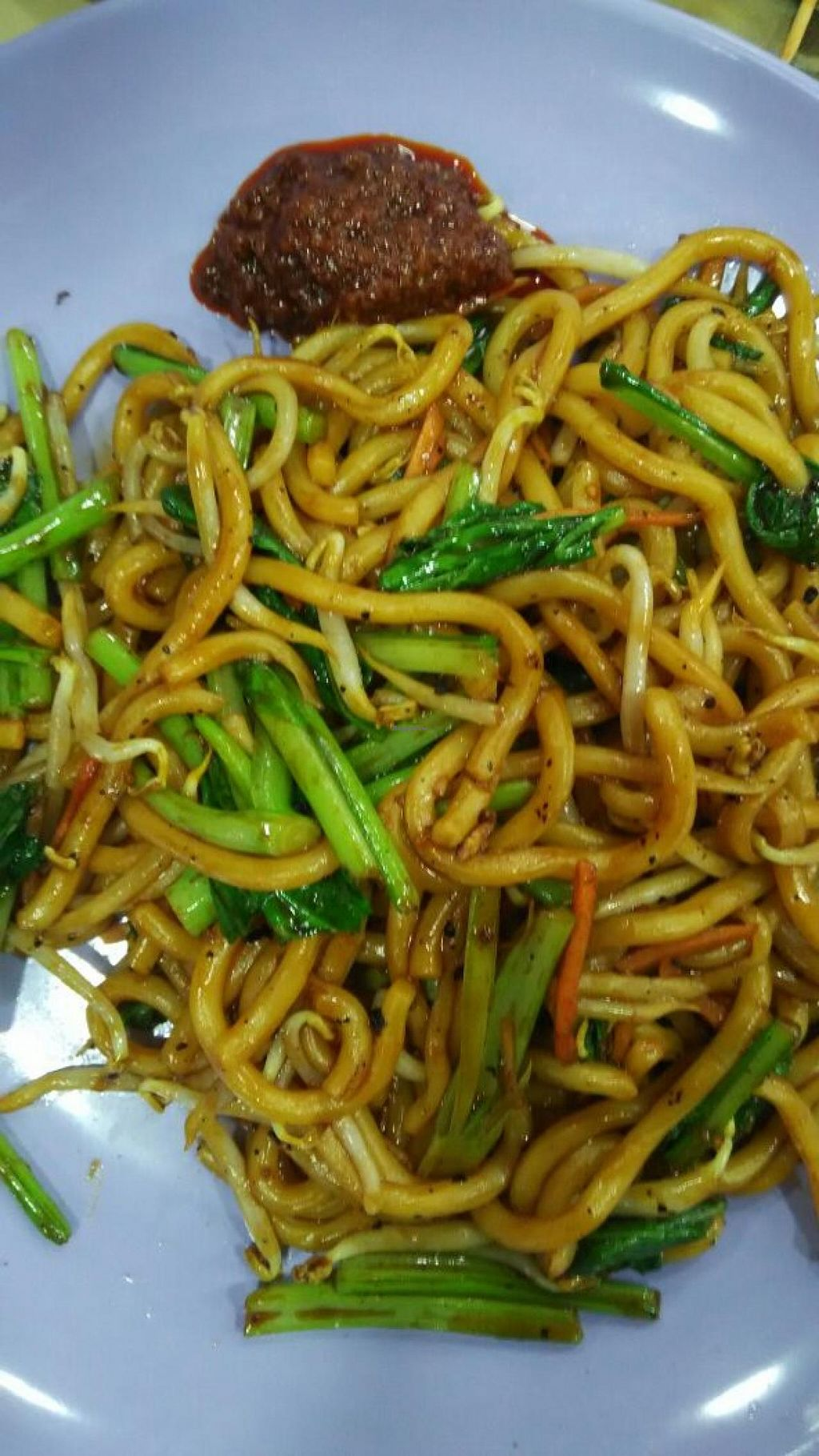 "Photo of San De Vegetarian - Vari Nice  by <a href=""/members/profile/JimmySeah"">JimmySeah</a> <br/>fried udon <br/> May 25, 2015  - <a href='/contact/abuse/image/58750/103374'>Report</a>"