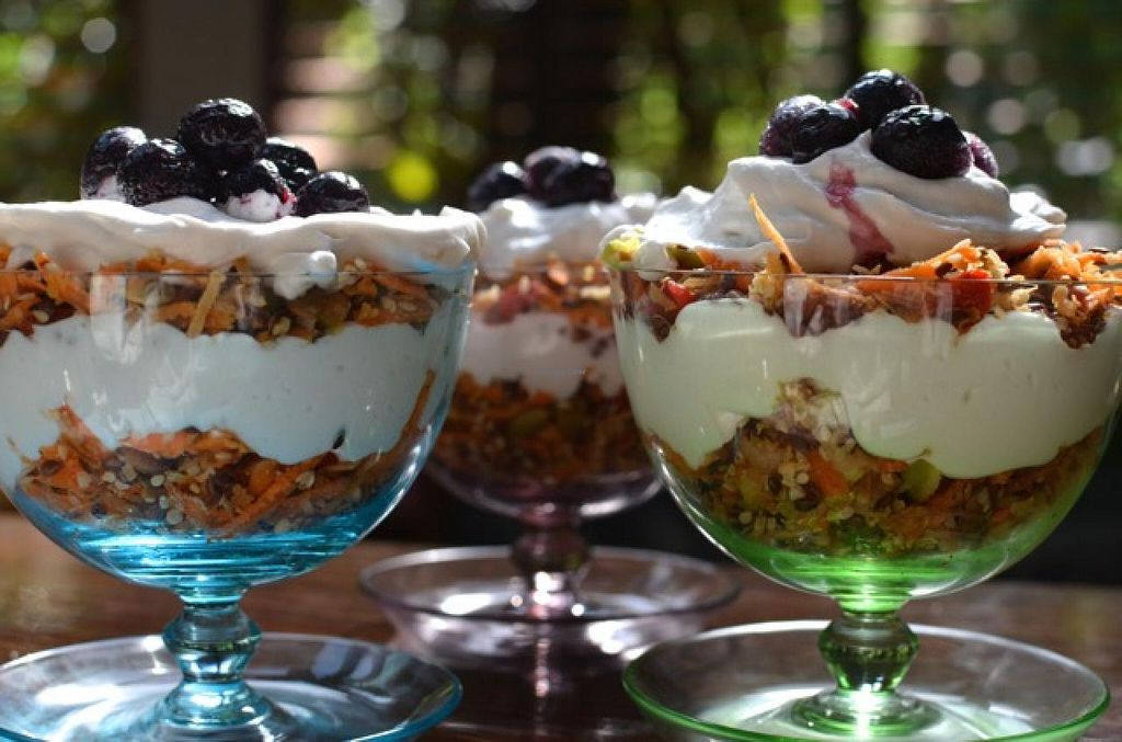Photo of Ulysses Garden Cafe  by UlyssesGardenCafe <br/>Paleo Breakfast Parfait at Ulysses Garden Cafe <br/> May 24, 2015  - <a href='/contact/abuse/image/58753/103293'>Report</a>
