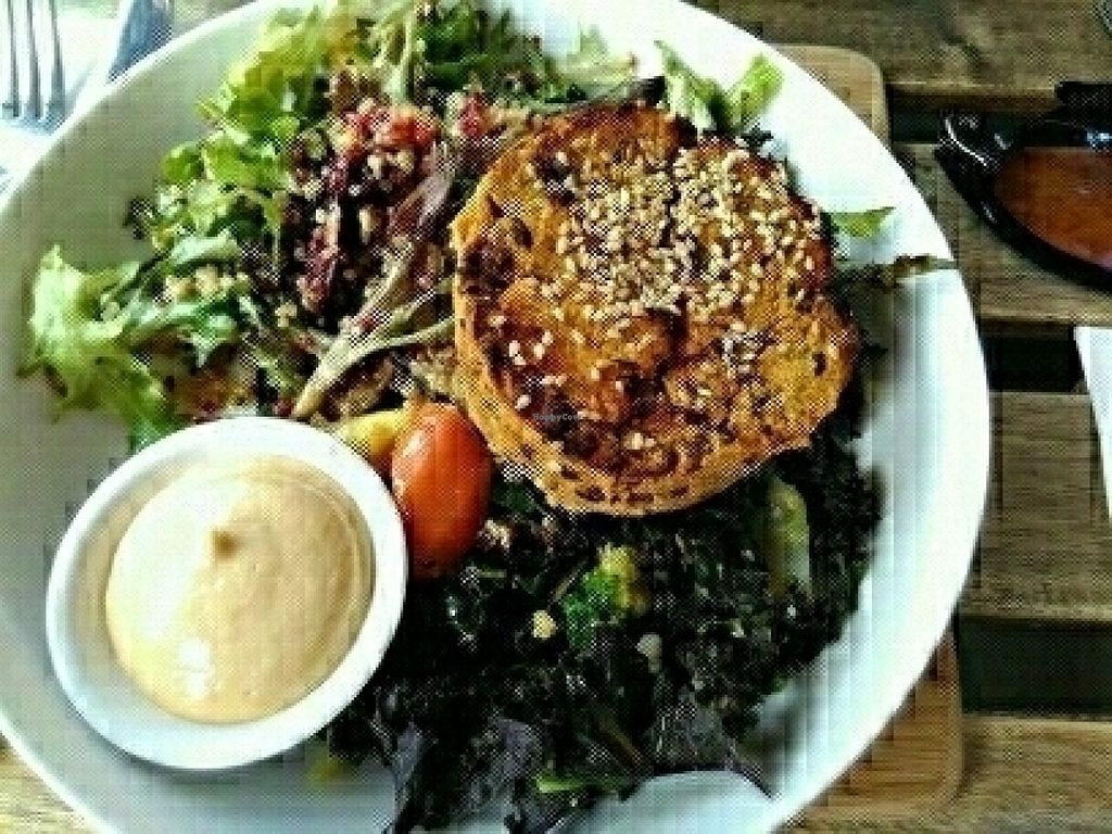 "Photo of Nutrition Republic  by <a href=""/members/profile/PamellaSousa"">PamellaSousa</a> <br/>Pumpkin patty + salad <br/> July 19, 2016  - <a href='/contact/abuse/image/58760/160871'>Report</a>"