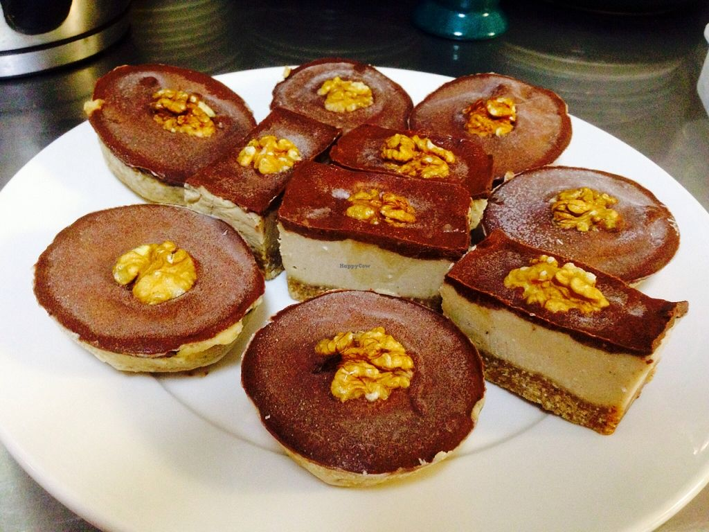 """Photo of CLOSED: Healthy Harvest   by <a href=""""/members/profile/jaynemaree89"""">jaynemaree89</a> <br/>Raw Vegan Maca salted caramel and cacao slice <br/> March 15, 2016  - <a href='/contact/abuse/image/58761/140044'>Report</a>"""