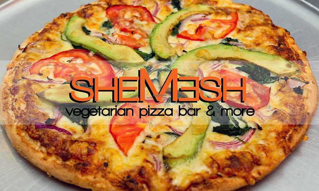 "Photo of Shemesh Pizza  by <a href=""/members/profile/tamlev"">tamlev</a> <br/>Guacamole pizza -