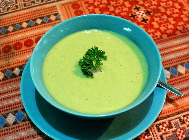 """Photo of CLOSED: Bodhi Tree Cafe  by <a href=""""/members/profile/reissausta%20ja%20ruokaa"""">reissausta ja ruokaa</a> <br/>Avocado cucumber soup.  <br/> October 13, 2016  - <a href='/contact/abuse/image/58775/181711'>Report</a>"""