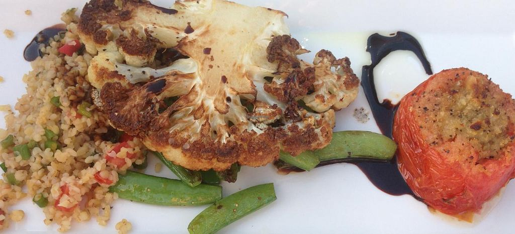 "Photo of Grandale  by <a href=""/members/profile/Alysoun%20Mahoney"">Alysoun Mahoney</a> <br/>Grandale Restaurant and Catering Neersville VA USA - Cauliflower Steak entree <br/> June 20, 2015  - <a href='/contact/abuse/image/58787/106608'>Report</a>"