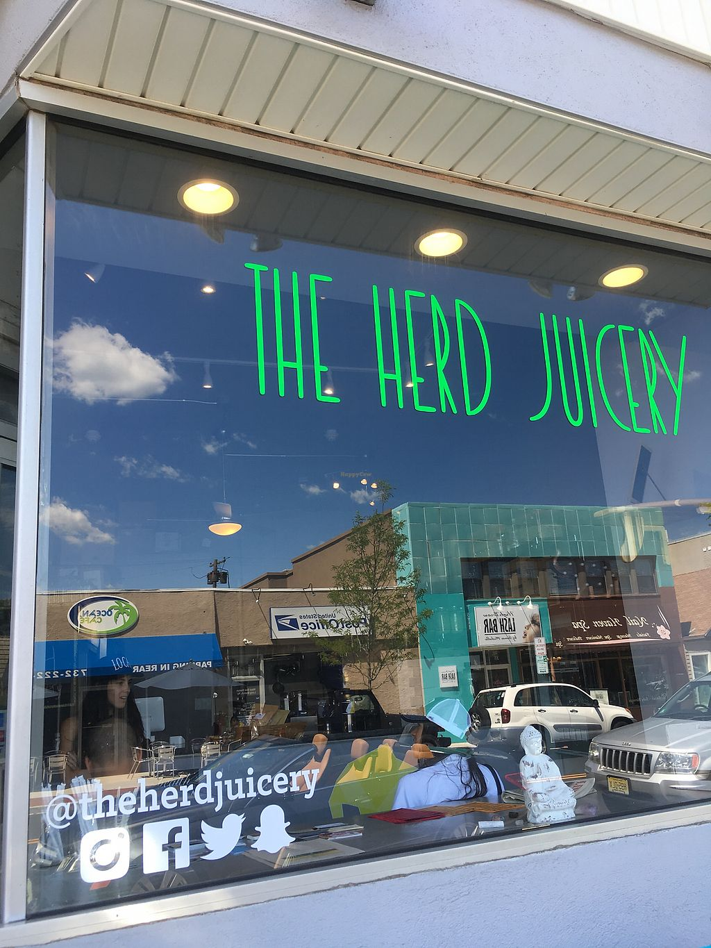 """Photo of The Herd Juicery  by <a href=""""/members/profile/Isamara"""">Isamara</a> <br/>Front <br/> June 26, 2017  - <a href='/contact/abuse/image/58788/273662'>Report</a>"""