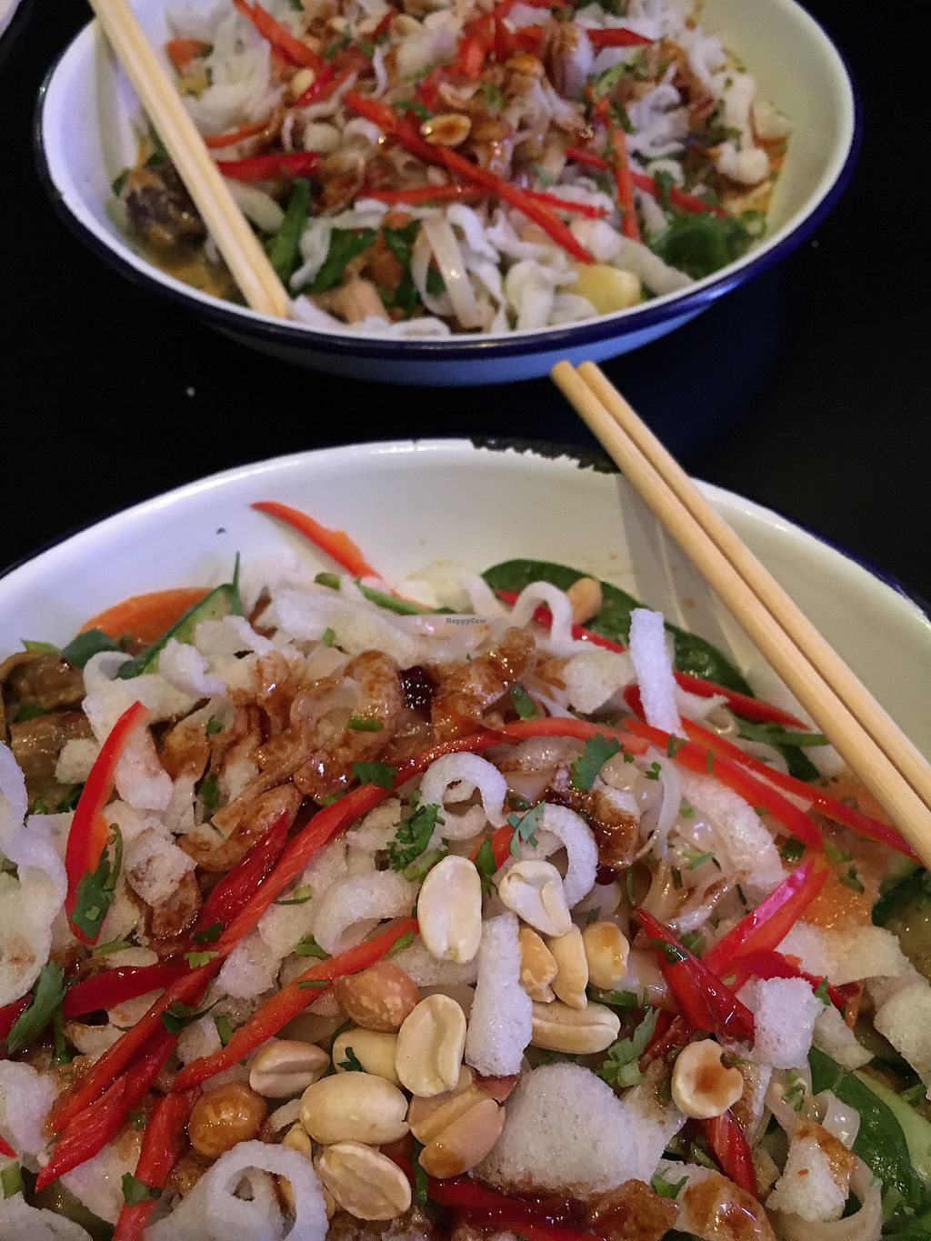 """Photo of The Cock  by <a href=""""/members/profile/SeitanSeitanSeitan"""">SeitanSeitanSeitan</a> <br/>Saigon noodles with veef and other yummy stuff <br/> January 6, 2018  - <a href='/contact/abuse/image/58801/343599'>Report</a>"""