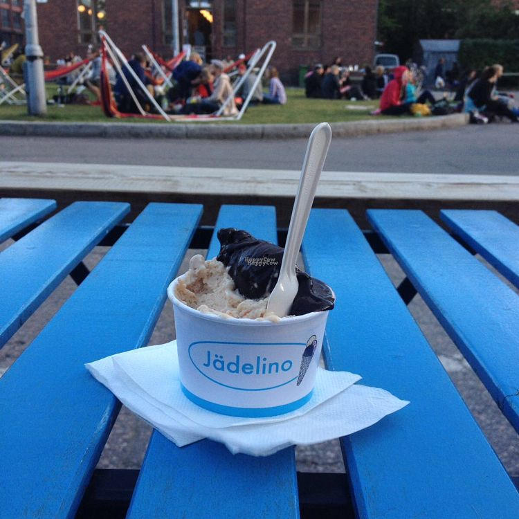 "Photo of Jadelino - Teurastamo  by <a href=""/members/profile/NaomiMW"">NaomiMW</a> <br/>vegan peanut butter & chocolate icecream <br/> October 2, 2016  - <a href='/contact/abuse/image/58805/179358'>Report</a>"