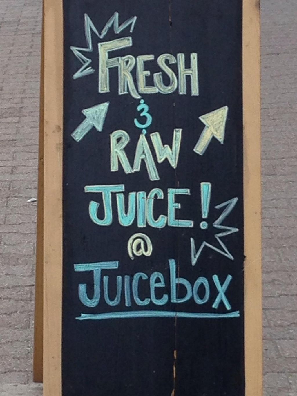 """Photo of Juicebox  by <a href=""""/members/profile/cookiem"""">cookiem</a> <br/>Outside sign <br/> May 30, 2015  - <a href='/contact/abuse/image/58829/104200'>Report</a>"""