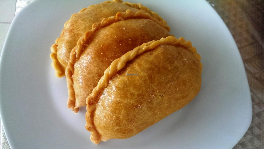 "Photo of Home Grown Vegetarian Food Stall  by <a href=""/members/profile/huangye"">huangye</a> <br/>Our best seller Curry Puff <br/> May 29, 2015  - <a href='/contact/abuse/image/58840/103987'>Report</a>"