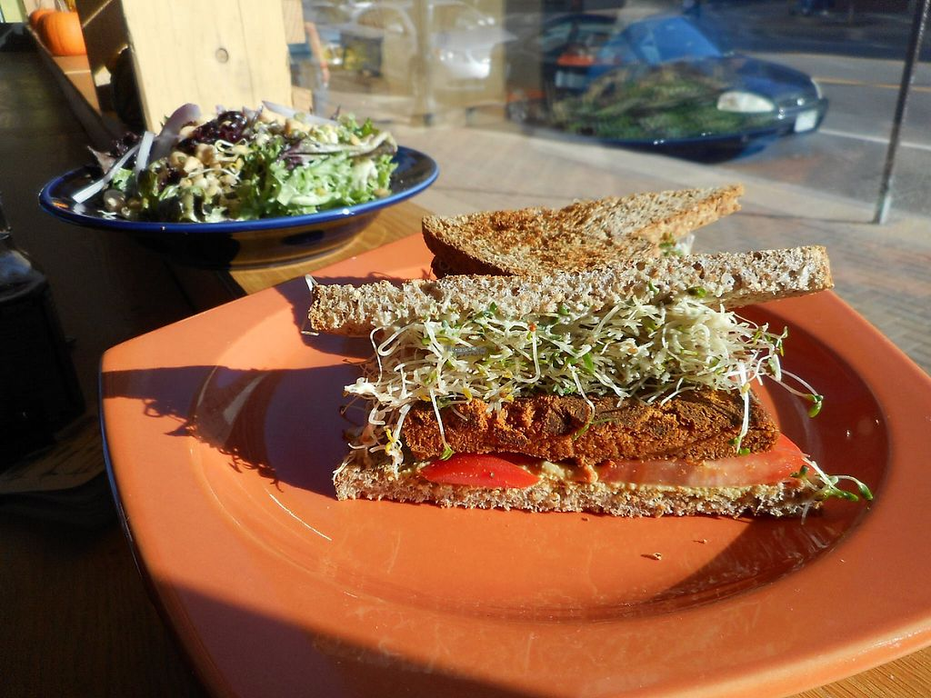 """Photo of Helio Terra Vegan Cafe  by <a href=""""/members/profile/Mu"""">Mu</a> <br/>burger <br/> November 25, 2016  - <a href='/contact/abuse/image/58848/194183'>Report</a>"""