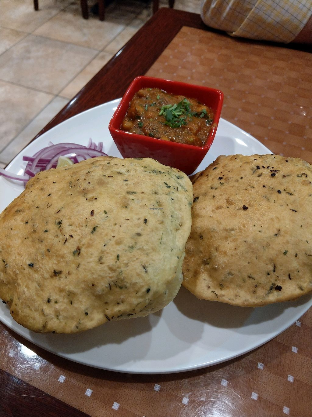"""Photo of Talk of the Town  by <a href=""""/members/profile/ashes2ashes87"""">ashes2ashes87</a> <br/>Chole Bhature <br/> February 5, 2018  - <a href='/contact/abuse/image/58856/355103'>Report</a>"""