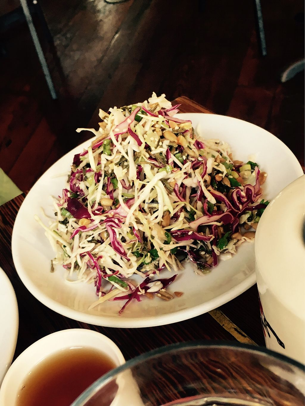 "Photo of Bao and Noodle  by <a href=""/members/profile/kurtanderson"">kurtanderson</a> <br/>tea Leaf Salad  <br/> August 27, 2017  - <a href='/contact/abuse/image/58867/297822'>Report</a>"