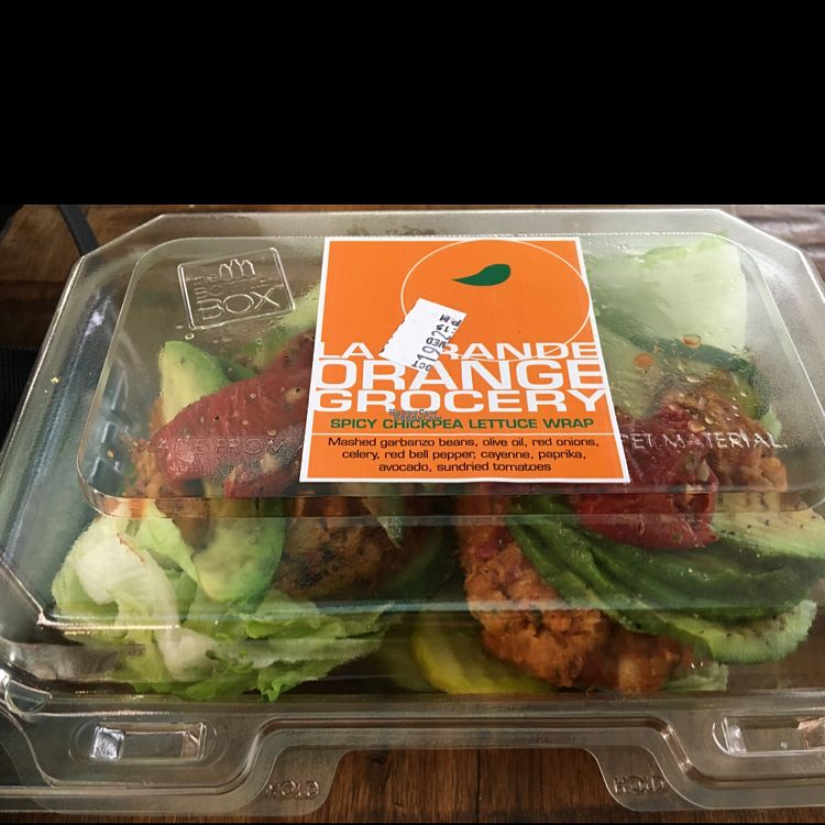 "Photo of La Grande Orange - Phoenix Sky Harbor International Airport  by <a href=""/members/profile/karenoxoxox"">karenoxoxox</a> <br/>spicy chickpea lettuce wrap <br/> October 19, 2016  - <a href='/contact/abuse/image/58870/182964'>Report</a>"