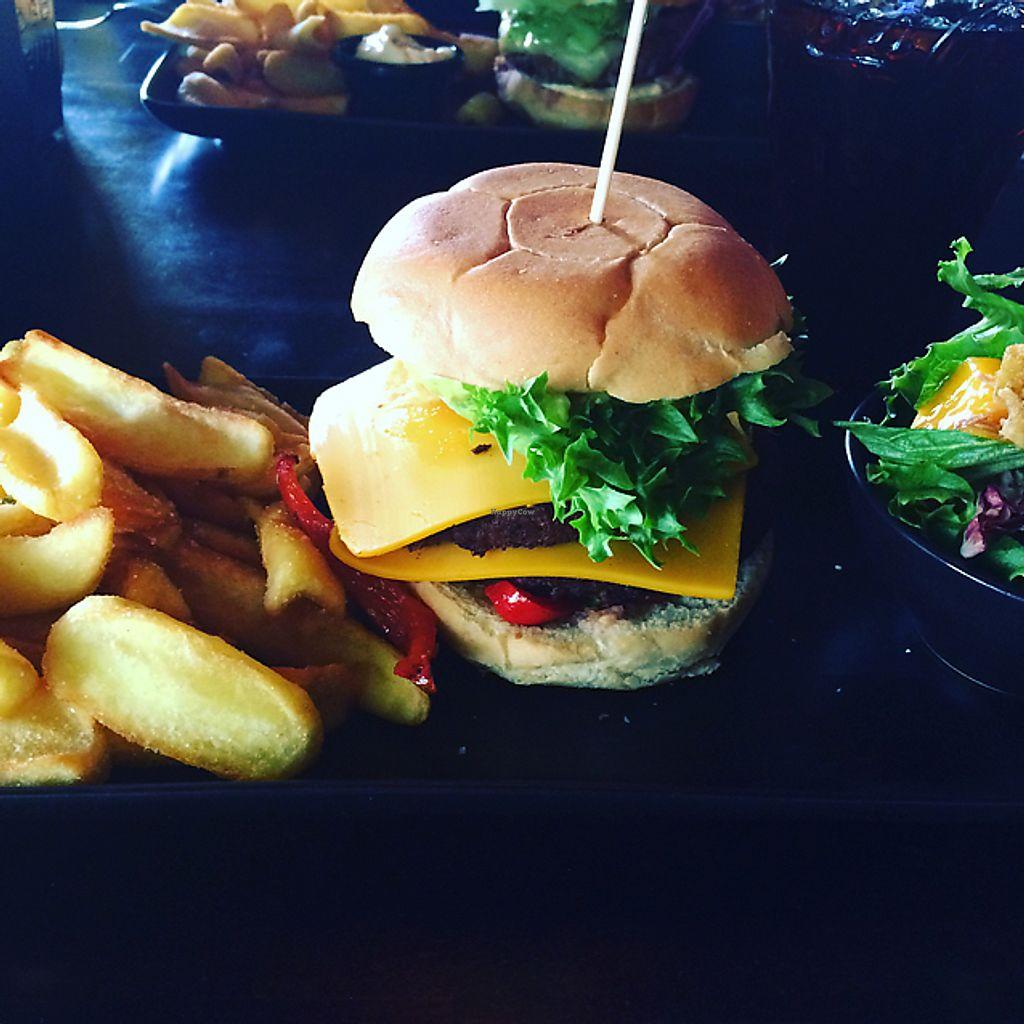 "Photo of Chico's  by <a href=""/members/profile/Veg_Anu"">Veg_Anu</a> <br/>Vegan burger at Töölö <br/> June 7, 2017  - <a href='/contact/abuse/image/58904/266620'>Report</a>"