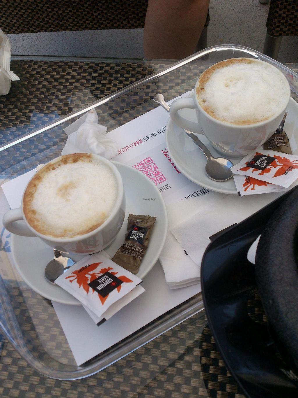 """Photo of Eiscafe Milano  by <a href=""""/members/profile/Tank242"""">Tank242</a> <br/>superb soya cappucini <br/> June 7, 2015  - <a href='/contact/abuse/image/58910/105023'>Report</a>"""