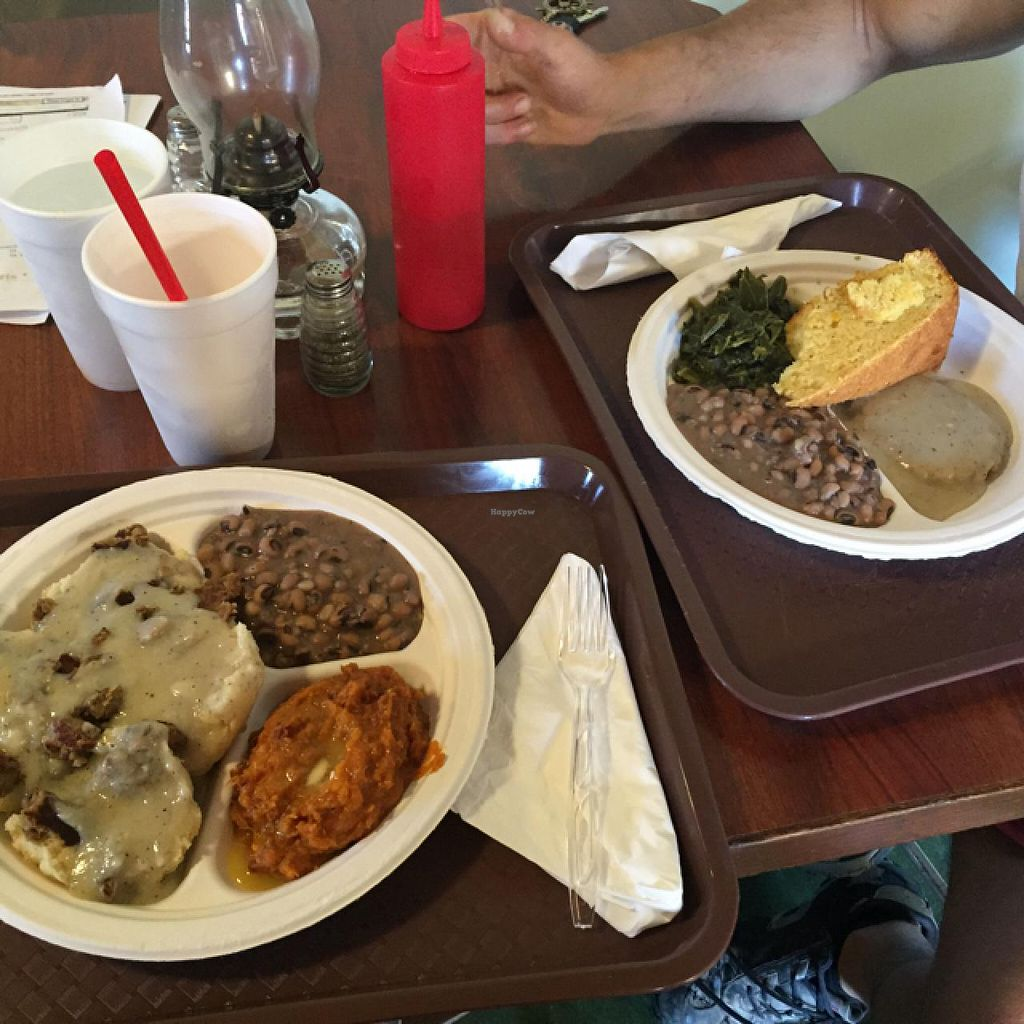 """Photo of CLOSED: Giagatt's Country Kitchen  by <a href=""""/members/profile/vegankristina"""">vegankristina</a> <br/>so many delicious things! <br/> June 5, 2015  - <a href='/contact/abuse/image/58918/104873'>Report</a>"""