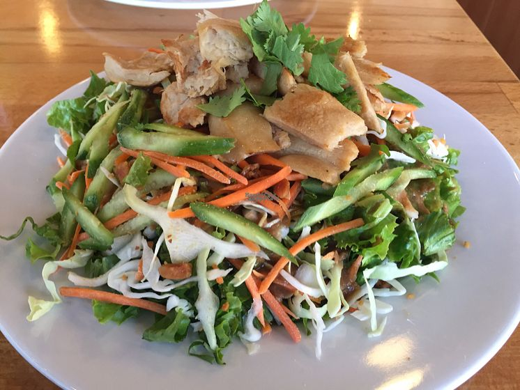 "Photo of One Veg World  by <a href=""/members/profile/VeganCookieLover"">VeganCookieLover</a> <br/>Thai Chick'n Salad <br/> August 27, 2016  - <a href='/contact/abuse/image/58963/171678'>Report</a>"