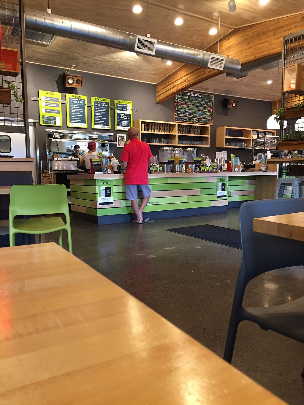 """Photo of Laughing Planet Cafe  by <a href=""""/members/profile/LinnDaugherty"""">LinnDaugherty</a> <br/>inside <br/> June 26, 2017  - <a href='/contact/abuse/image/58981/273476'>Report</a>"""