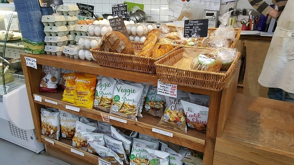 """Photo of Village Greens Community Co-Op  by <a href=""""/members/profile/Clare"""">Clare</a> <br/>Fresh bread <br/> April 6, 2017  - <a href='/contact/abuse/image/58983/245213'>Report</a>"""