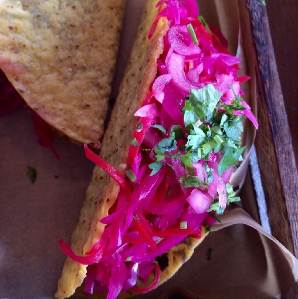 """Photo of CLOSED: Raw Food Rebellion Cafe  by <a href=""""/members/profile/CiaraSlevin"""">CiaraSlevin</a> <br/>tacos <br/> September 12, 2015  - <a href='/contact/abuse/image/58987/117425'>Report</a>"""