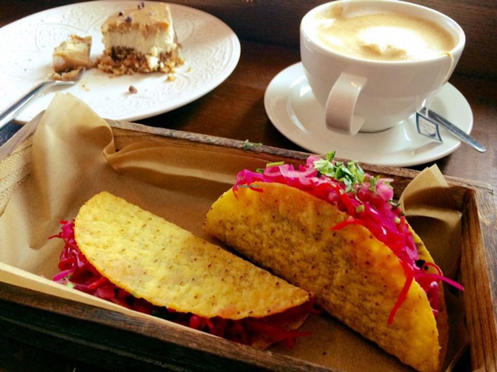 """Photo of CLOSED: Raw Food Rebellion Cafe  by <a href=""""/members/profile/CiaraSlevin"""">CiaraSlevin</a> <br/>Saturday lunch  <br/> September 12, 2015  - <a href='/contact/abuse/image/58987/117428'>Report</a>"""