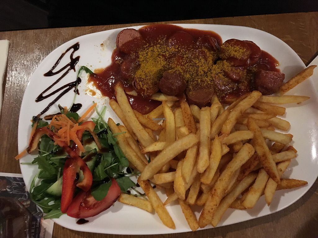 """Photo of Debakel  by <a href=""""/members/profile/monisonfire"""">monisonfire</a> <br/>vegan curry sausage <br/> February 5, 2018  - <a href='/contact/abuse/image/58994/355329'>Report</a>"""