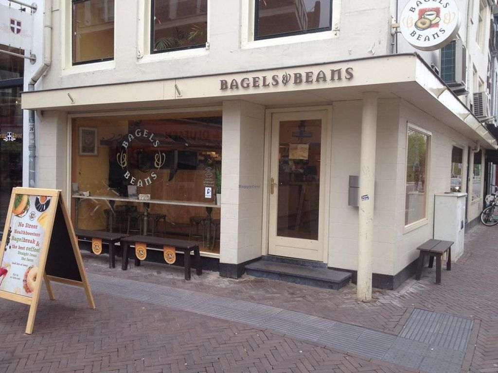 Photo of Bagels & Beans  by zeepsopje <br/>The outside <br/> June 3, 2015  - <a href='/contact/abuse/image/58998/104612'>Report</a>