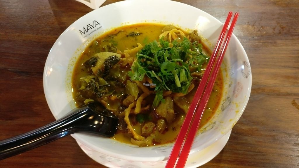 """Photo of Maya Mall - Veg Food Stall  by <a href=""""/members/profile/davidredstone"""">davidredstone</a> <br/>Khao Soi soup  <br/> March 21, 2017  - <a href='/contact/abuse/image/59005/239115'>Report</a>"""