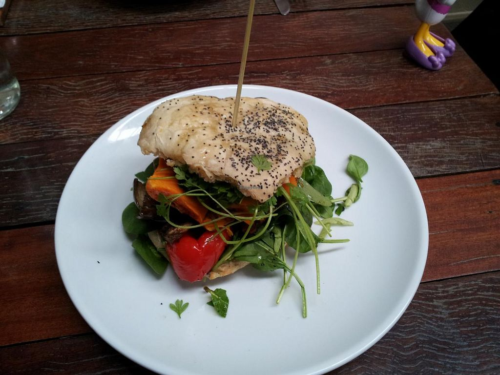 "Photo of Little Seed by Firefly  by <a href=""/members/profile/necius"">necius</a> <br/>Grilled Vegetable Burger at The Firefly Cafe <br/> July 19, 2015  - <a href='/contact/abuse/image/59016/109991'>Report</a>"