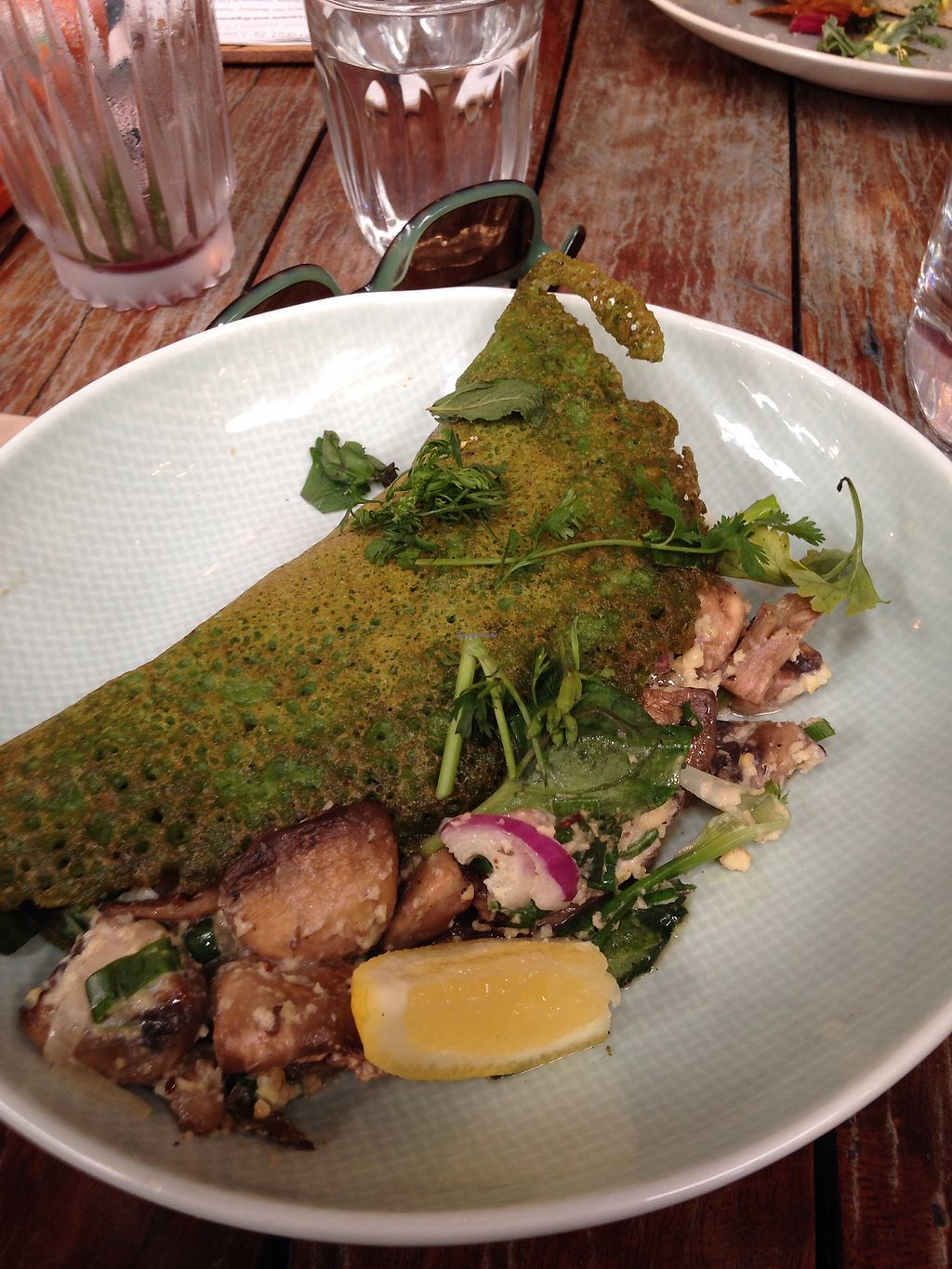 "Photo of Little Seed by Firefly  by <a href=""/members/profile/PBFoodie"">PBFoodie</a> <br/>Spinach and mushroom crepe  <br/> October 24, 2017  - <a href='/contact/abuse/image/59016/318530'>Report</a>"