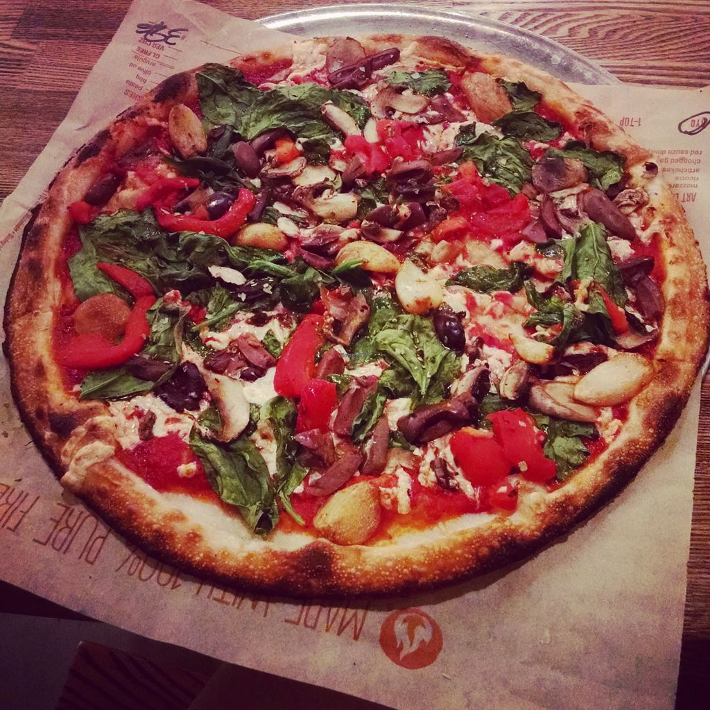 """Photo of Blaze Pizza  by <a href=""""/members/profile/ToriKriegel"""">ToriKriegel</a> <br/>Vegan pizza <br/> August 1, 2015  - <a href='/contact/abuse/image/59036/111856'>Report</a>"""