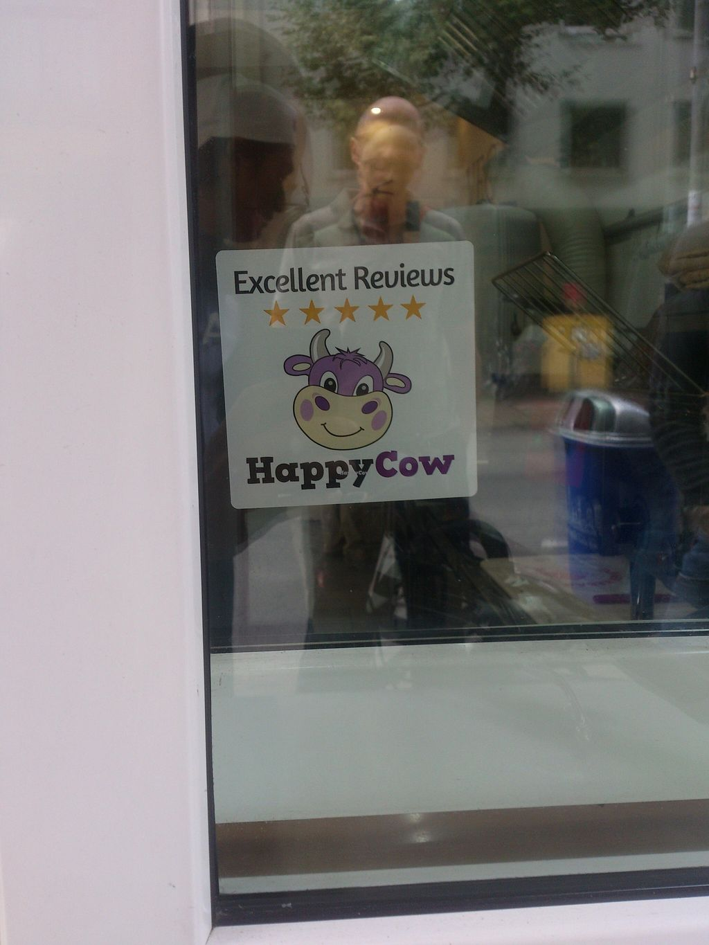 """Photo of CLOSED: Aroma Vegan  by <a href=""""/members/profile/Tank242"""">Tank242</a> <br/>5 Happy Cows, countless happy customers! <br/> September 8, 2015  - <a href='/contact/abuse/image/59046/116826'>Report</a>"""