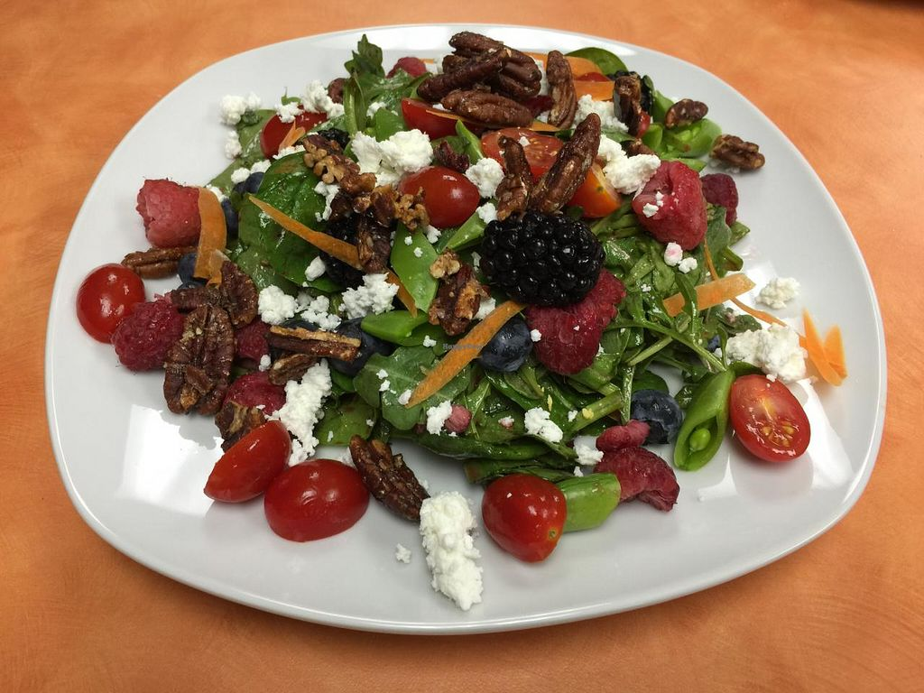 """Photo of Fresh Start Cafe and Market  by <a href=""""/members/profile/paullicata"""">paullicata</a> <br/>Antioxidant Salad <br/> June 3, 2015  - <a href='/contact/abuse/image/59056/104686'>Report</a>"""