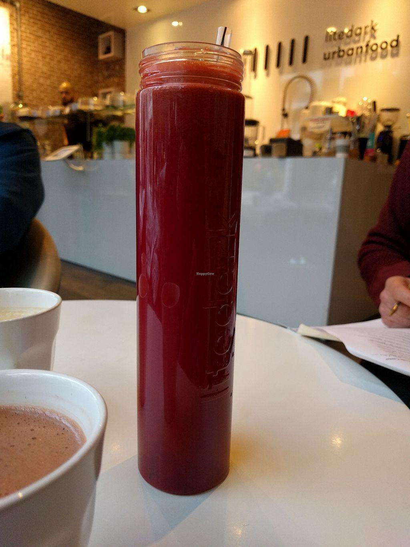 "Photo of Litedark Urbanfood  by <a href=""/members/profile/steveveg"">steveveg</a> <br/>Shake <br/> February 2, 2018  - <a href='/contact/abuse/image/59067/353946'>Report</a>"