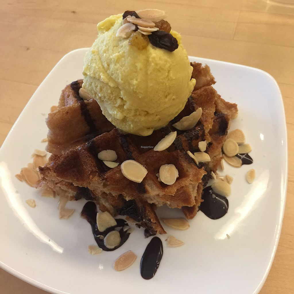 """Photo of LN Fortunate Coffee - Plaza Riverwalk  by <a href=""""/members/profile/Emilka"""">Emilka</a> <br/>Warm waffle with passion mango ice cream <br/> December 11, 2017  - <a href='/contact/abuse/image/59080/334594'>Report</a>"""
