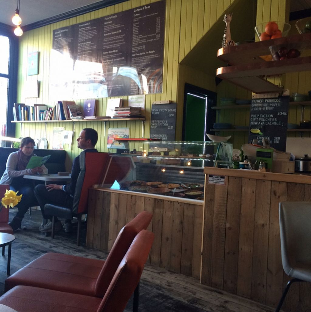 """Photo of Pulp Fiction Future Food and Juice Cafe  by <a href=""""/members/profile/Love%20to%20munch"""">Love to munch</a> <br/>Cafe <br/> February 18, 2016  - <a href='/contact/abuse/image/59089/136807'>Report</a>"""