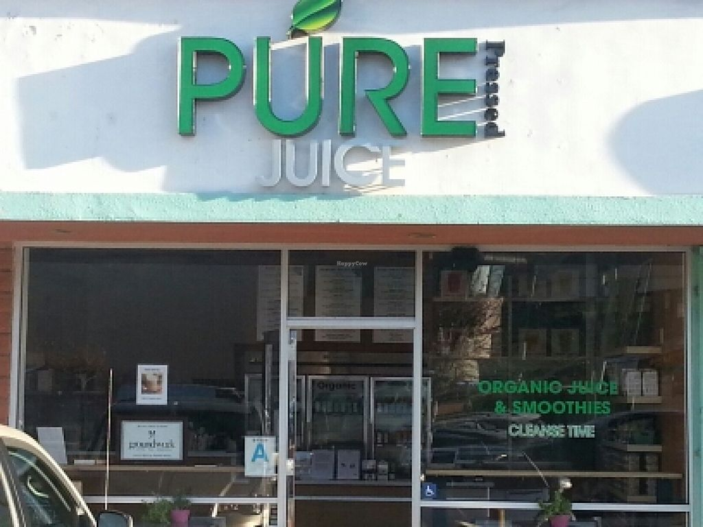 "Photo of Pure Green Juice  by <a href=""/members/profile/eric"">eric</a> <br/>outside <br/> February 7, 2016  - <a href='/contact/abuse/image/59139/135386'>Report</a>"