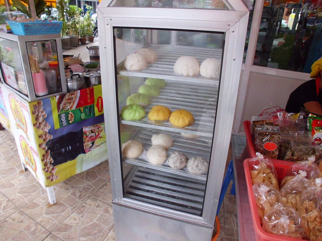 """Photo of CLOSED: Num Heng Vegetarian - Thanon Sheutt  by <a href=""""/members/profile/Maros"""">Maros</a> <br/>Vegan products <br/> August 22, 2017  - <a href='/contact/abuse/image/59142/295579'>Report</a>"""
