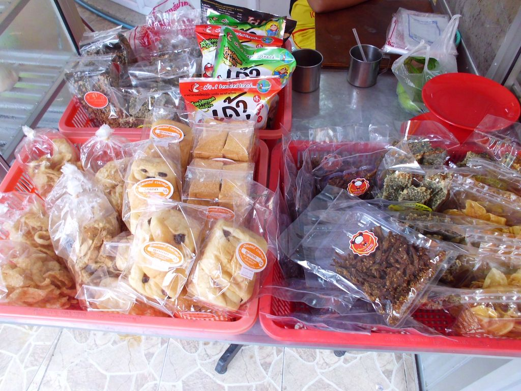 """Photo of CLOSED: Num Heng Vegetarian - Thanon Sheutt  by <a href=""""/members/profile/Maros"""">Maros</a> <br/>Vegan products <br/> August 22, 2017  - <a href='/contact/abuse/image/59142/295581'>Report</a>"""