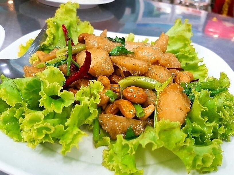 """Photo of CLOSED: Num Heng Vegetarian - Thanon Sheutt  by <a href=""""/members/profile/wangsuhjing"""">wangsuhjing</a> <br/>辣炒腰豆雞 <br/> November 28, 2017  - <a href='/contact/abuse/image/59142/330178'>Report</a>"""