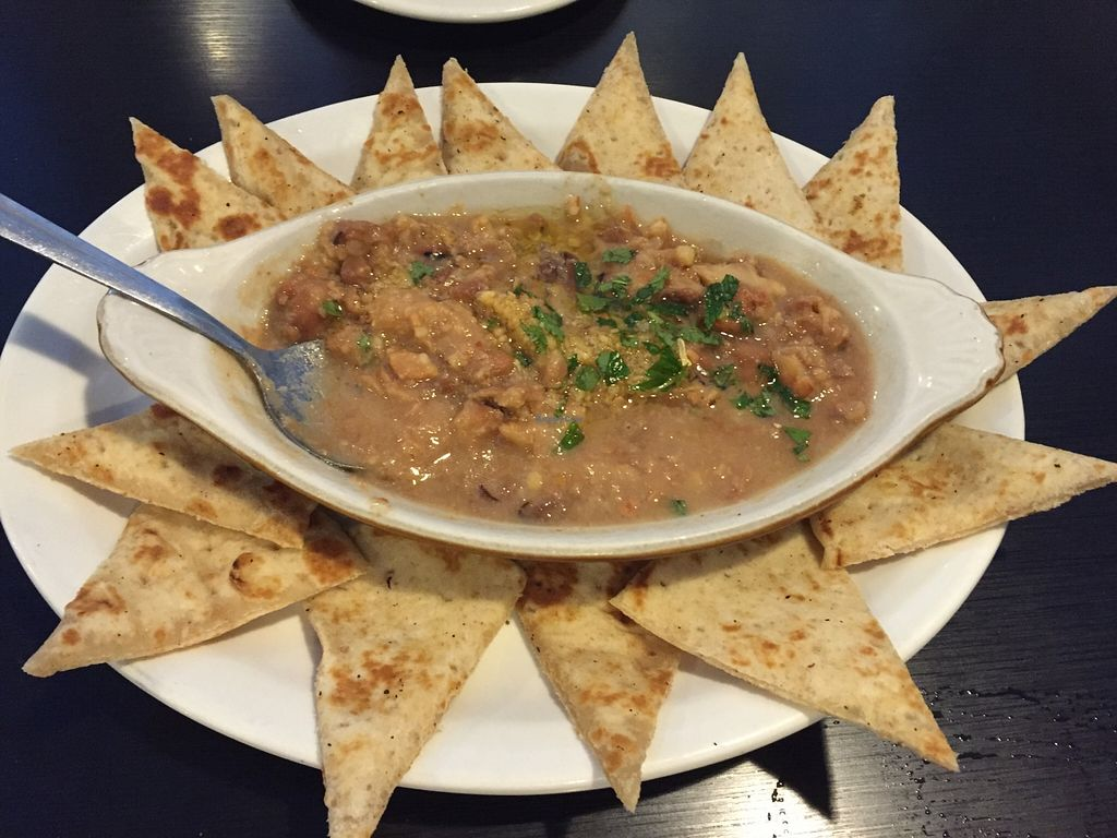 """Photo of Niki's Rainbow Restaurant  by <a href=""""/members/profile/clovely.vegan"""">clovely.vegan</a> <br/>Fava Bean dip.  <br/> December 8, 2015  - <a href='/contact/abuse/image/59157/127629'>Report</a>"""